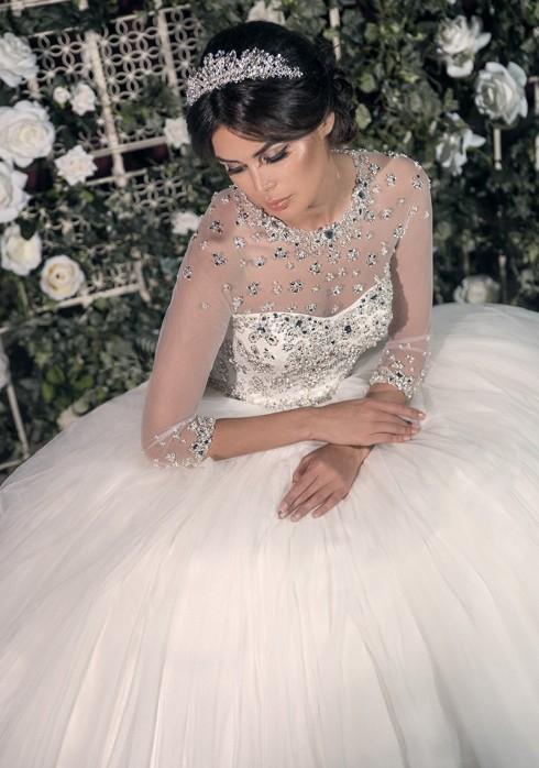 свадебный салон Очарование в Митино переехал на второй этаж, Свадебное платье Мила