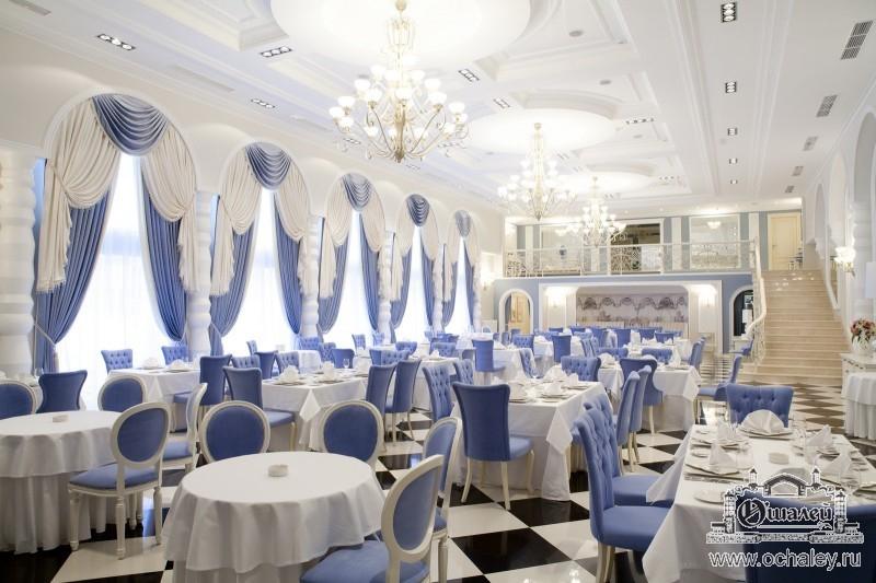Дизайн банкетных залов ресторанов