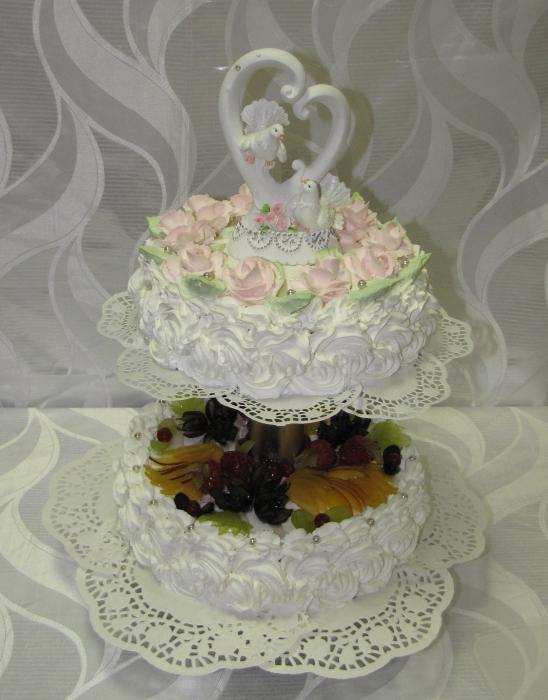 2-х ярусный торт